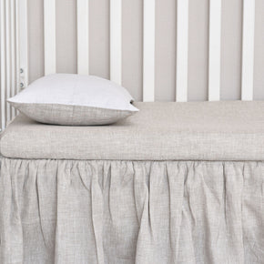 Breathable Baby Bassinet Mattress for Crib and Cradle - Wholesome Linen