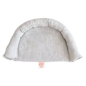 Organic Moses Basket Wedge Edge - Wholesome Linen