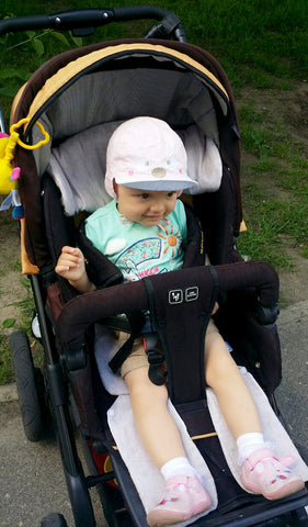 Organic Toddler Car Seat Cooler & Stroller Liner by Wholesome Linen ...