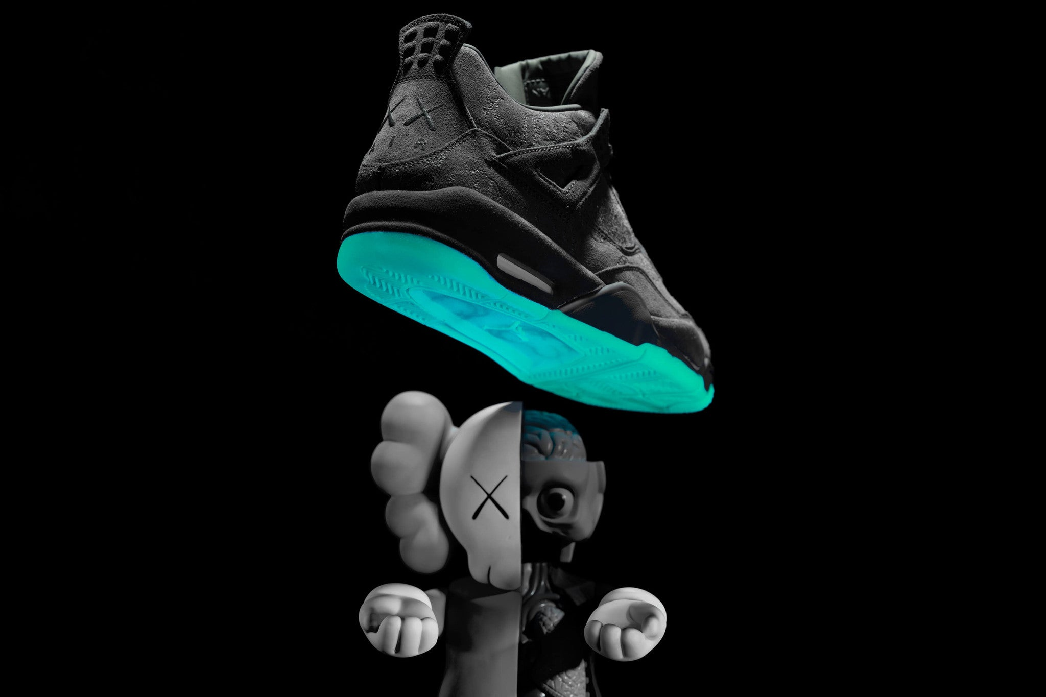 on sale fbe4a 66b5f KAWS x Air Jordan 4 - CNCPTS ...