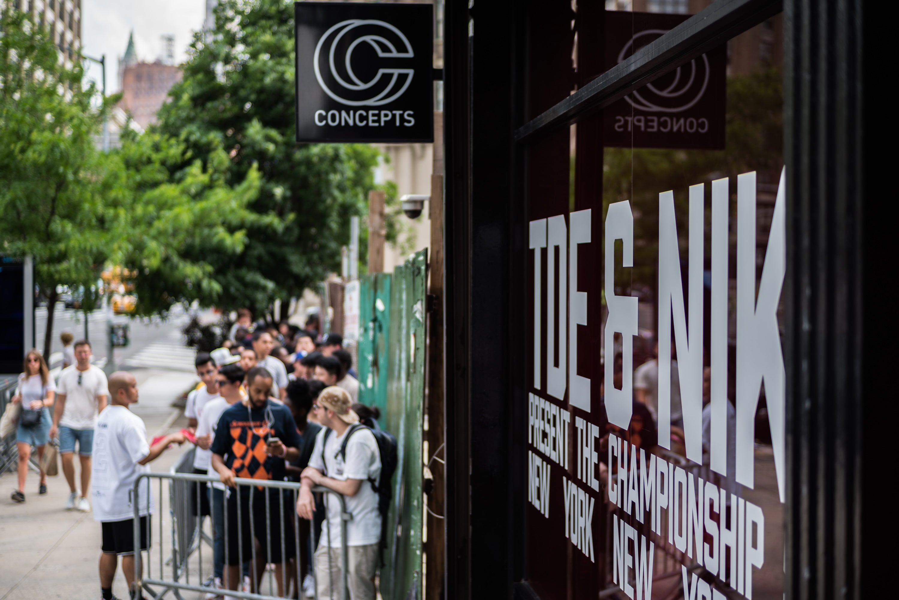 Nike x TDE Championship Tour Pop-up Shop hosted by Concepts