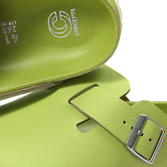 Concepts x Birkenstock Boston Grooved Leather (Lime)