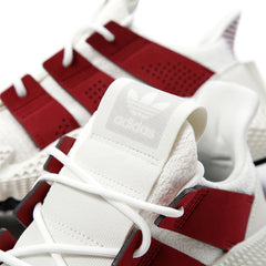 adidas Prophere (Cloud White/Noble Maroon/Black)
