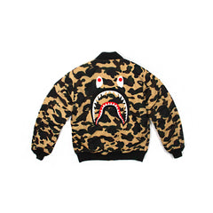 A Bathing Ape 1st Camo Shark MA-1 (Yellow)