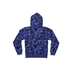 A Bathing Ape Color Camo Swarovski Ape Small Head (Navy)