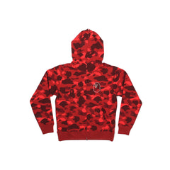 A Bathing Ape Color Camo Swarovski Ape Small Head (Red)