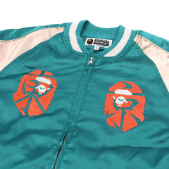 A Bathing Ape Souvenir Jacket (Blue)