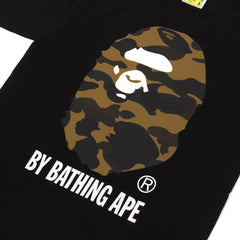 A Bathing Ape Reflector 1st Camo by Bathing Ape Tee (Black/Camo)