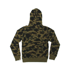 A Bathing Ape 1st Camo College Pullover Hoodie (Green)