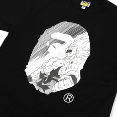 A Bathing Ape X Dragon Ball Z Tee (Black)