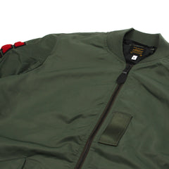 A Bathing Ape Light Weight Shark MA-1 (Olive)