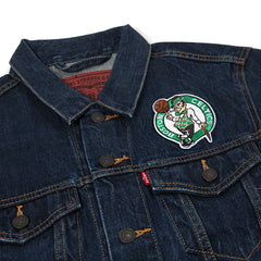 Levi's Celtics Denim Trucker Jacket (Celtics/Blue)