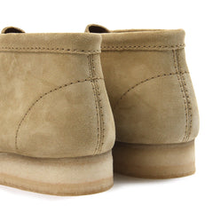 Clarks Wallabee Suede Boot (Maple Suede)