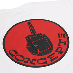 Concepts Glove Tee (White/Red)