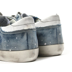 Golden Goose Sneaker Superstar (Bleached/Light Blue)