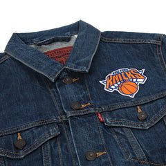 Levi's Knicks Denim Trucker Jacket (Knicks/Blue)