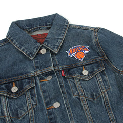 Levi's Womens Knicks Denim Trucker Jacket (Knicks/Blue)