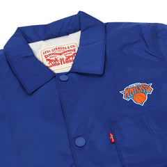 Levi's Knicks Club Coat (Blue/Orange)