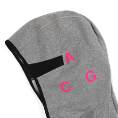 NikeLab ACG Tech Fleece Hoodie (Grey/Pink)