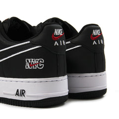 Nike Air Force 1 Low Retro NYC (Black/Black-White)