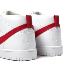 Nike Dunk Lux Chukka / RT (White/Distance Red)