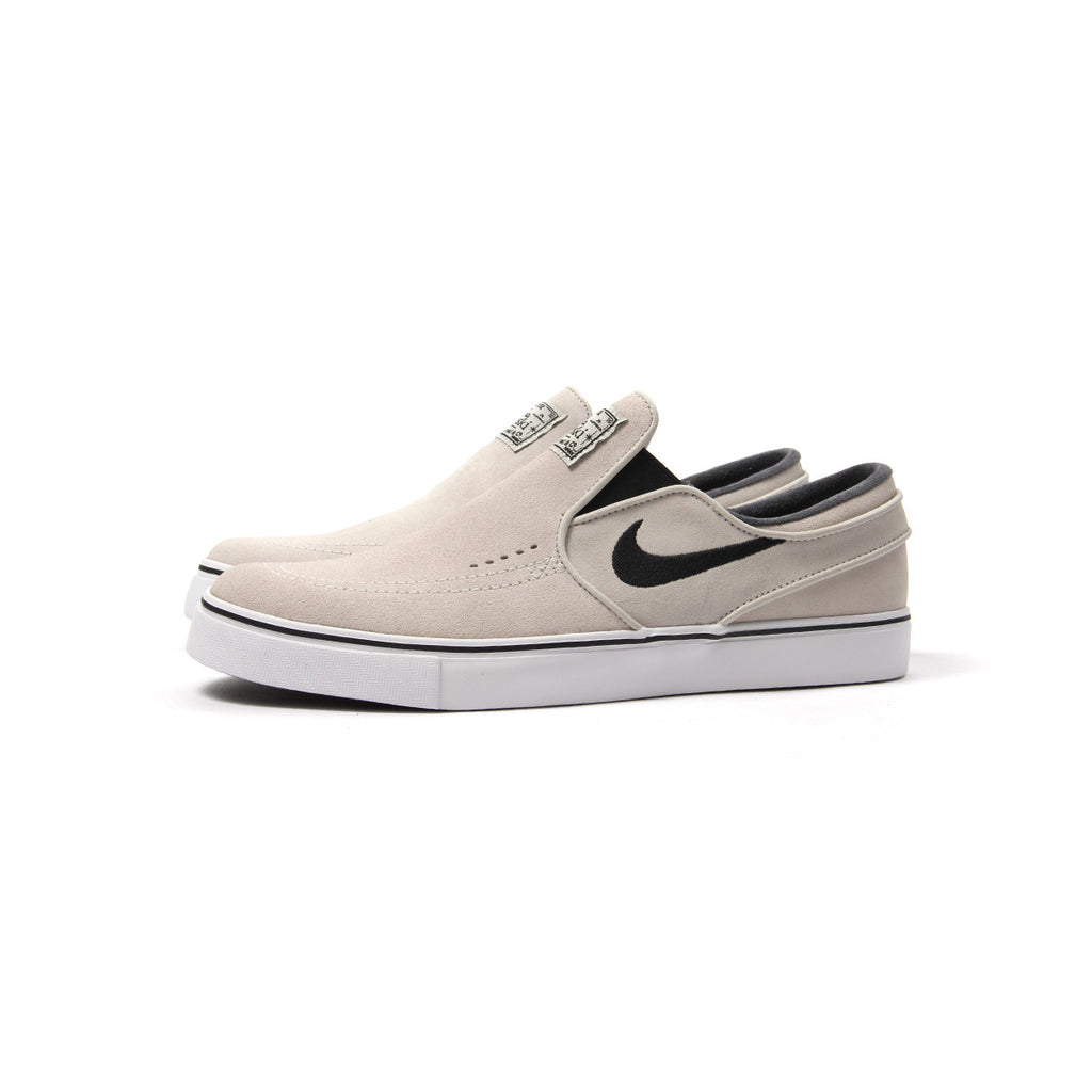 Nike Zoom Stefan Janoski Slip / Light Bone/ White B7M18P8GE