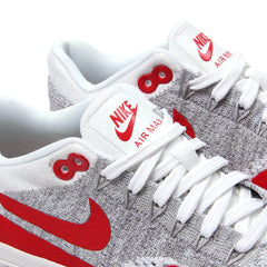 Nike Womens Air Max 1 Ultra Flyknit (White/University Red)