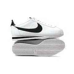 Nike Women's Classic Cortez Leather (White/Black-White)