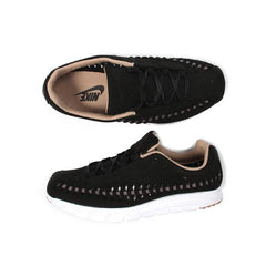 Nike Womens Mayfly Woven (Black/Dark Grey-White)