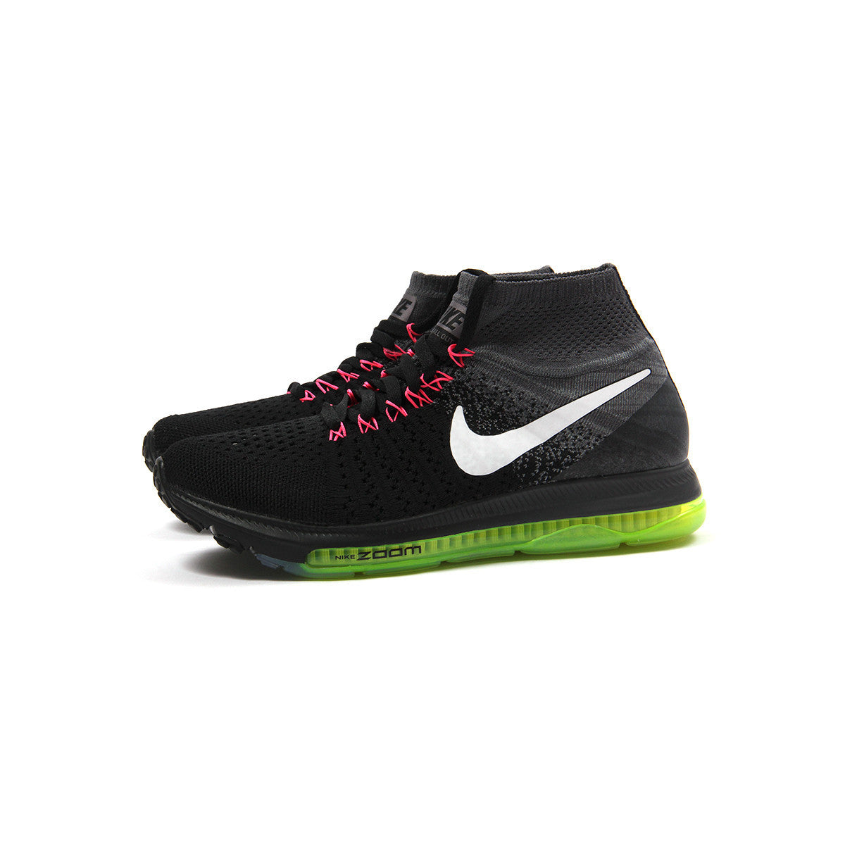 1e575daf3f7e ... sale concepts international nike womens zoom all out flyknit black white  cool grey 0dcf9 36541