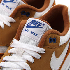 Nike Air Max 1 Premium Retro (Dark Curry/True White-Sport Blue)