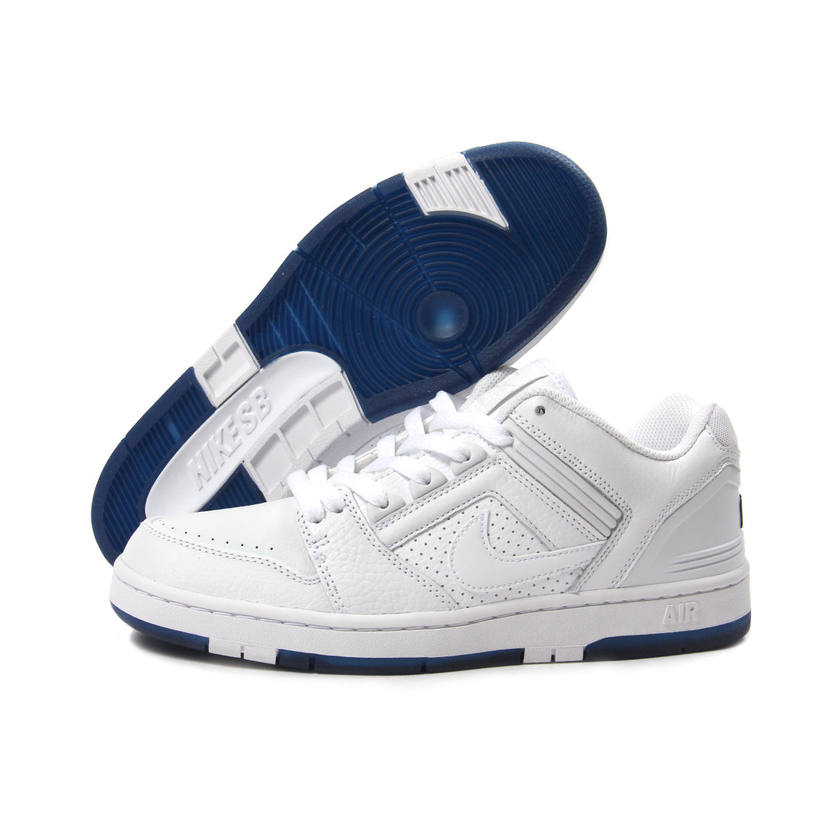 concepts international nike sb air force ii low qs white white blue void. Black Bedroom Furniture Sets. Home Design Ideas