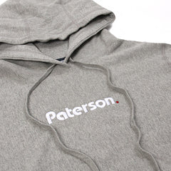 Paterson. OG Logo Hoodie (Heather Grey)
