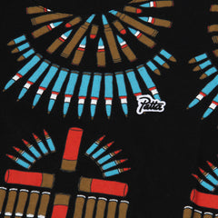Patta All Over Bullet Tee (Black/Multi)
