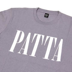Patta Throwback Tee (Lavender Gray)