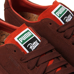 Puma Clyde X Patta II (VIbrant Orange/Biscuit-Puma White)