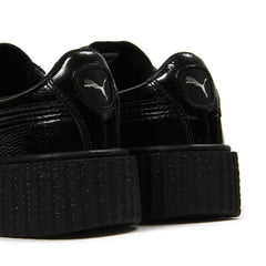 Puma Womens Creeper Cracked Leather (Black)
