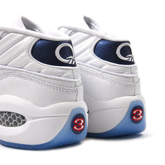 Reebok Question Mid (White/Pearlized Navy-Red)
