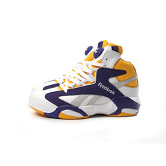 Reebok Shaq Attaq X Politics (White/Steel-Team Purple)