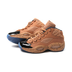 Reebok x Melody Ehsani Question Mid Womens ME (British Tan/Blue Ice)