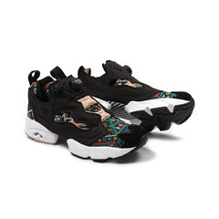 Reebok Womens Instapump Fury GT (Black/White-Dusty Pink)