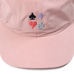 Stussy Card Suit Low Pro Cap (Pink)