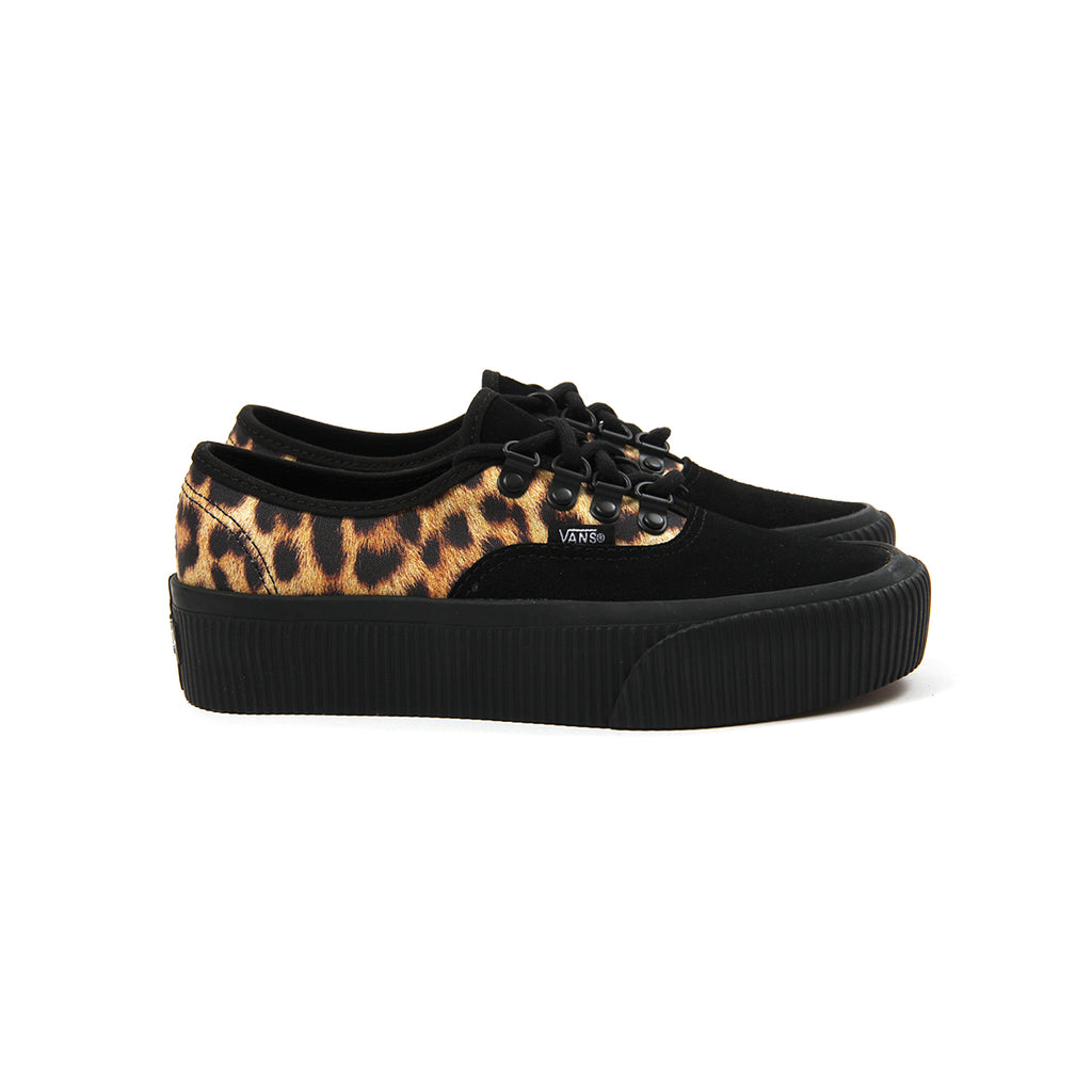 vans authentic leopard