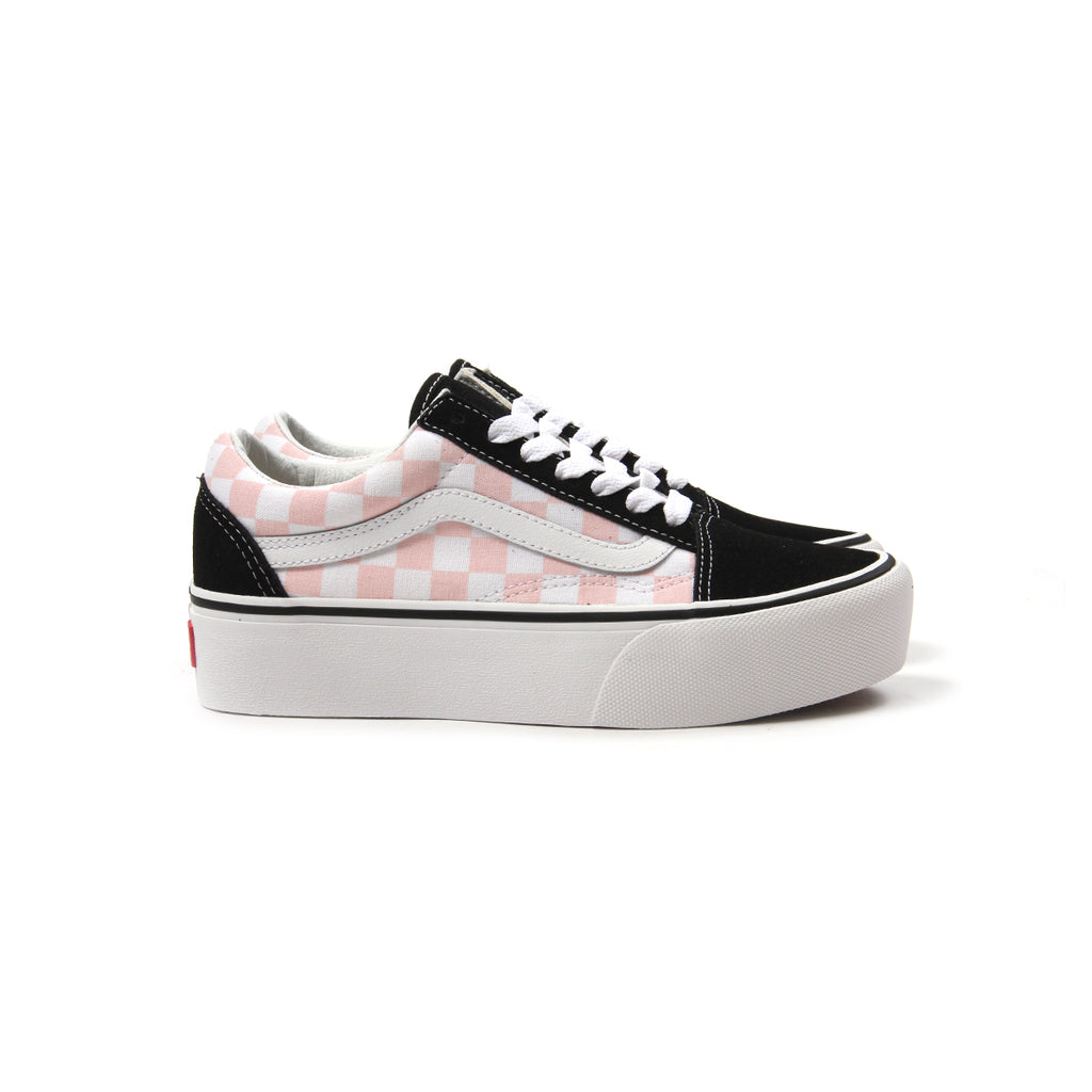 690f002eb34 pink and black checkered vans
