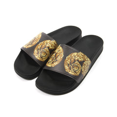 Versace Collection Slide (Multicolor/Black)
