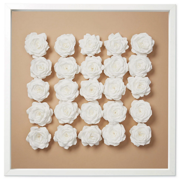 12. Paper Roses on Neutral