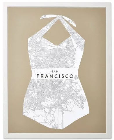 Bathing Suit: San Francisco