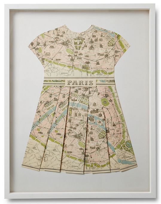 Paper Dress: Paris
