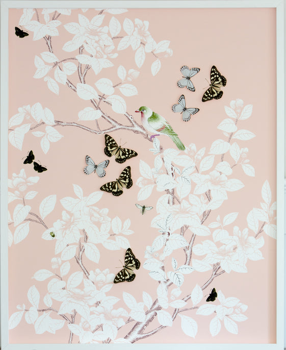 Chinoiserie Collage: Pink
