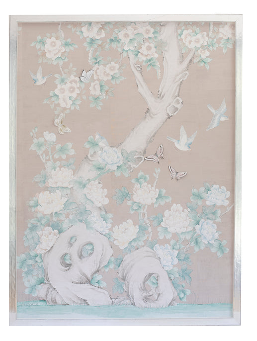 Copy of 1 Chinoiserie Collage: Pale pink